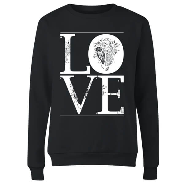 Anatomic Love Women's Sweatshirt - Black