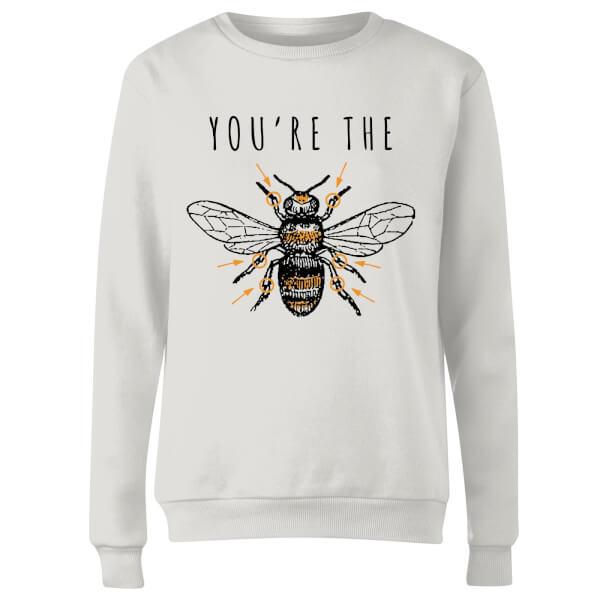 You're The Bees Knees Women's Sweatshirt - White