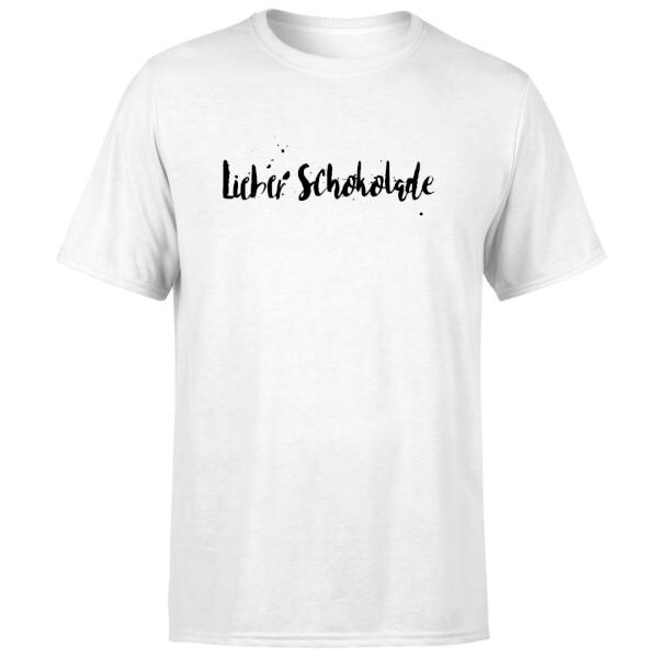Lieber Schokolade T-Shirt - White