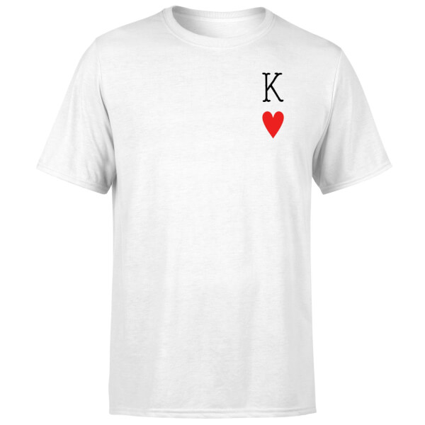 King Of Hearts T-Shirt - White