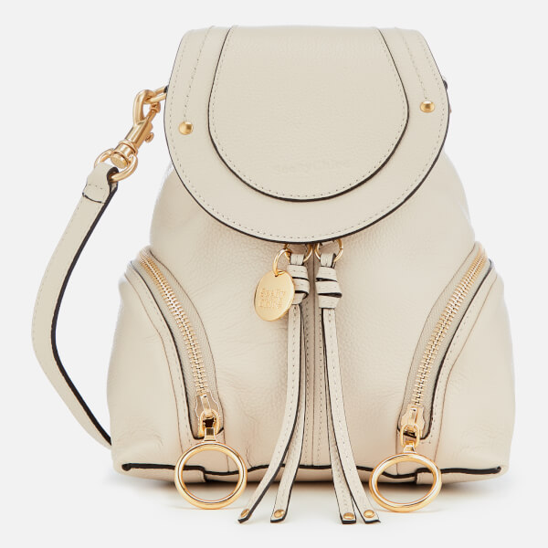 See By Chloé Women's Mini Olga Backpack - Cement Beige