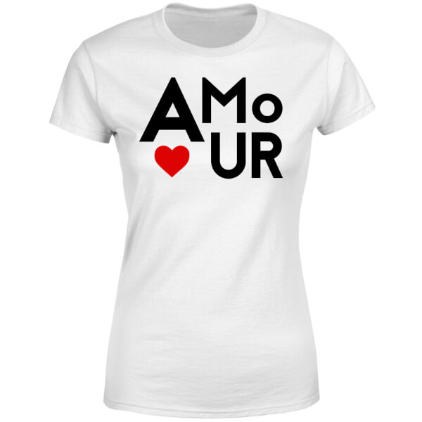 Amour Block Women's T-Shirt - White