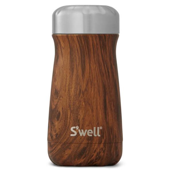 S'well The Teakwood Traveller Bottle 350ml