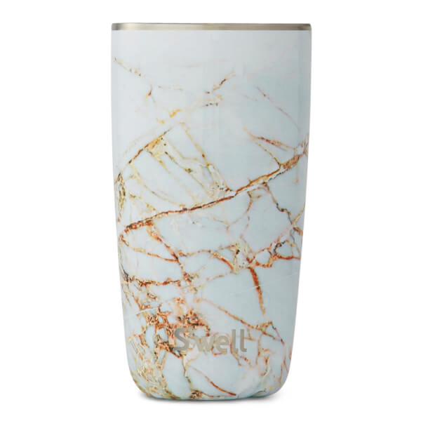 S Well The Calacatta Gold Tumbler 530ml Homeware Thehut Com