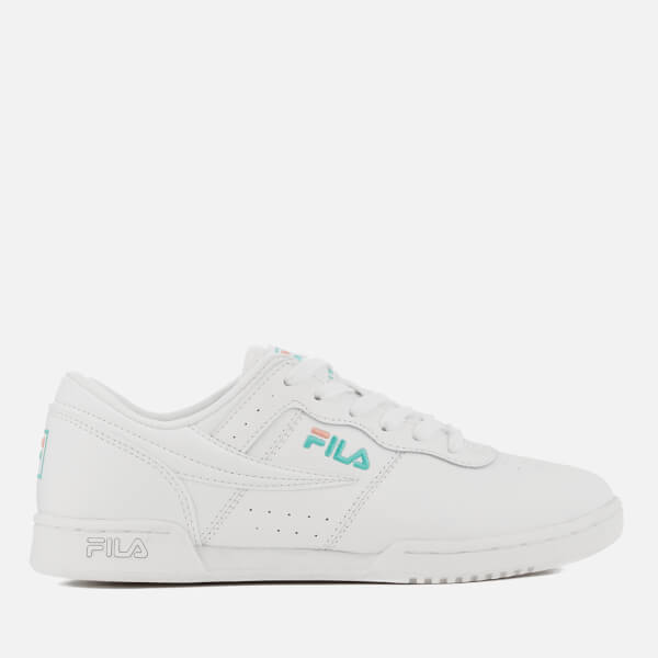 b20f75612c24 FILA Women s Original Fitness Trainers - White  Image 1
