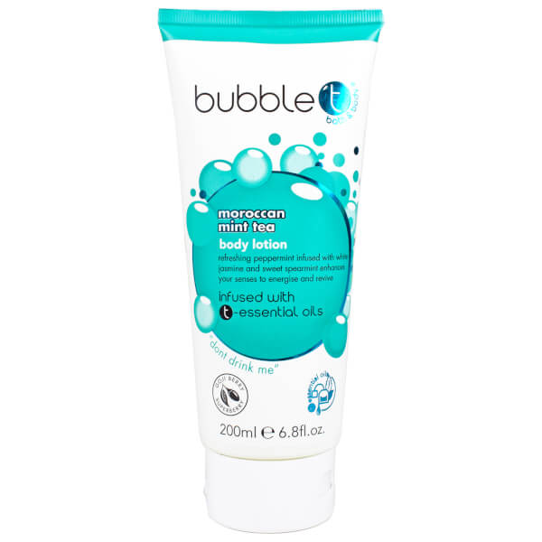 Bubble T Moroccan Mint Tea Body Lotion (200ml)