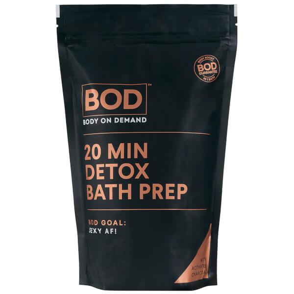 BOD 20min Detox Bath Prep - Charcoal 1kg