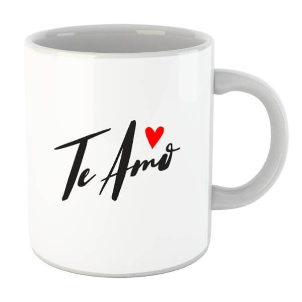 Te Amo Script Mug