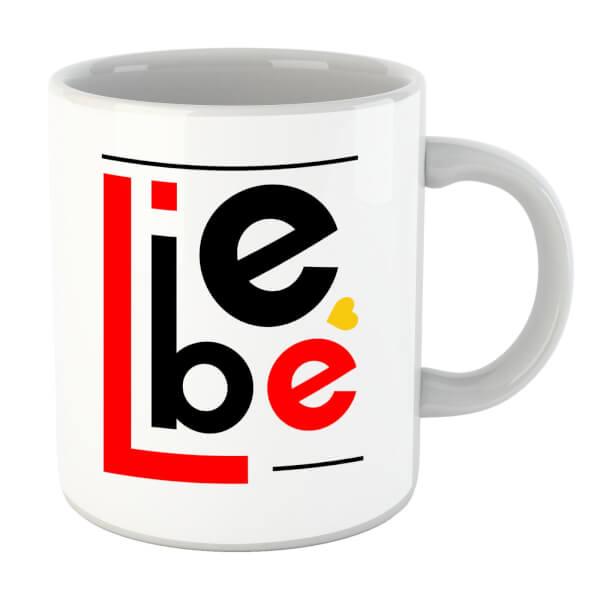 Liebe Block Mug
