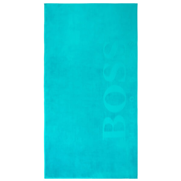Hugo BOSS Carved Beach Towel - Lagoon