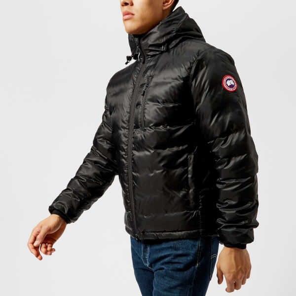 Canada Goose Men's Lodge Hooded Jacket - Black: Image 1
