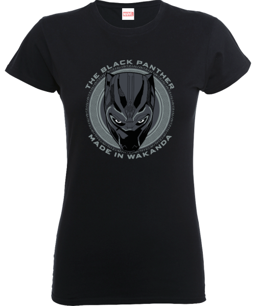 Black Panther Made in Wakanda Women's T-Shirt - Black