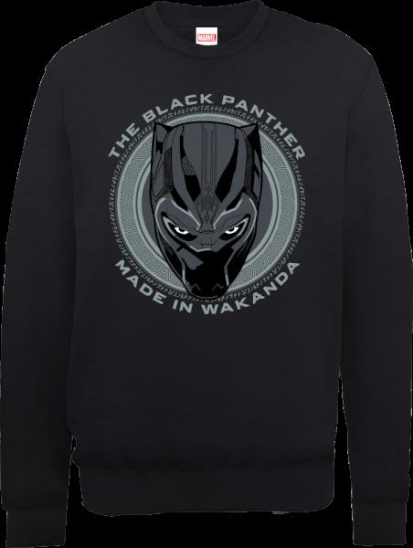 Black Panther Made in Wakanda Sweatshirt - Black
