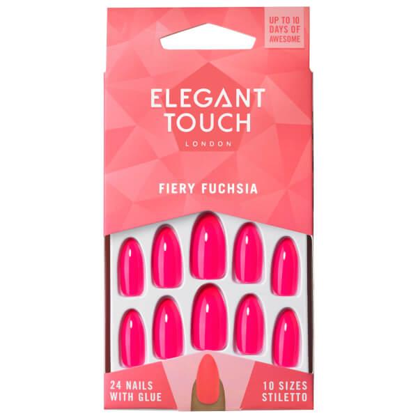 Elegant Touch Colour Nails - Fiery Fuchsia | BeautyExpert