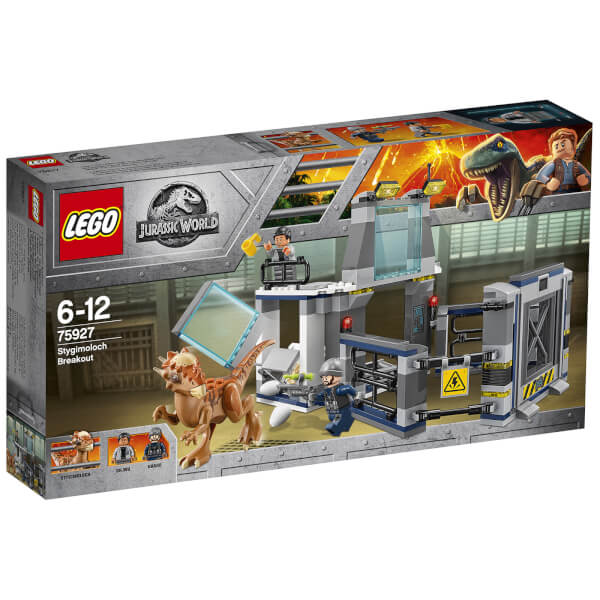 lego jurassic fallen kingdom stygimoloch laboratory breakout 75927 image 1 - Jurassic Lego