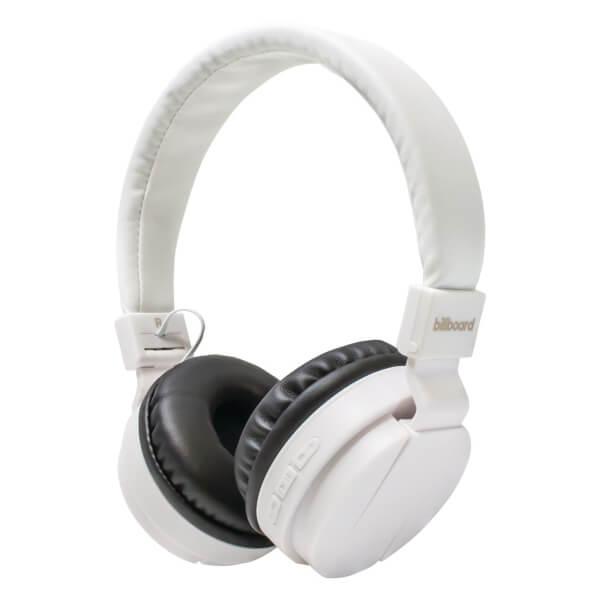 Billboard On Ear Bluetooth Wireless Headphones - White