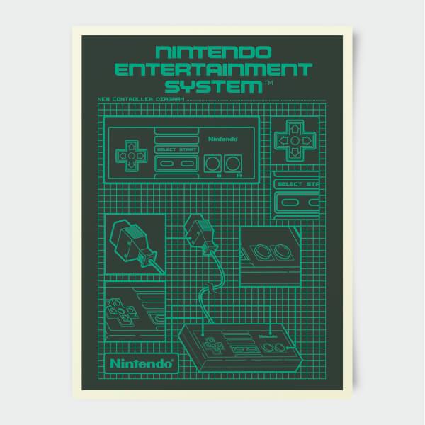 Nintendo Entertainment System Print