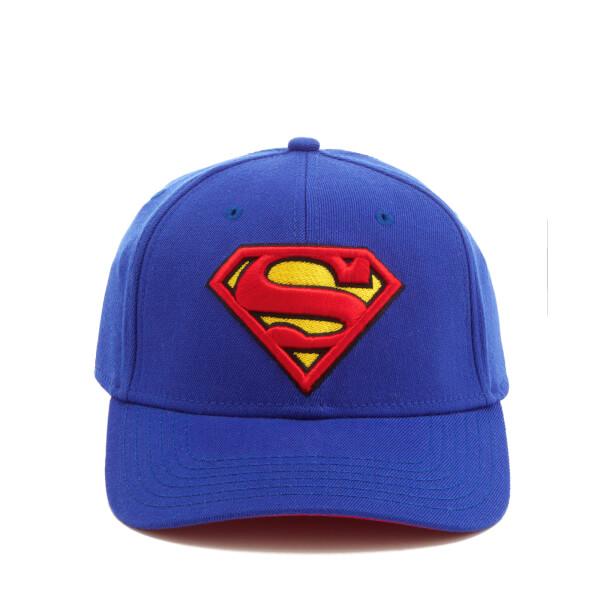 DC Comics Superman Men's Logo Cap - Blue