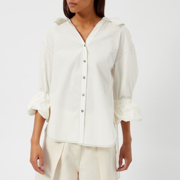 Rejina Pyo Women's Amber Shirt - Cotton White