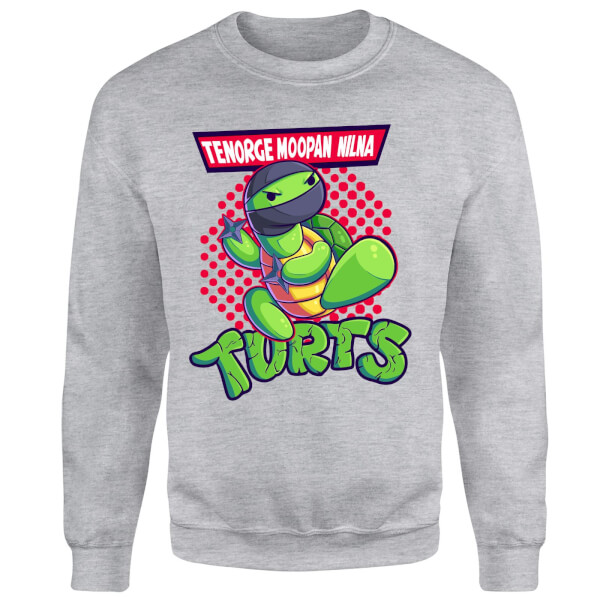 Turts Sweatshirt - Grey: Image 1