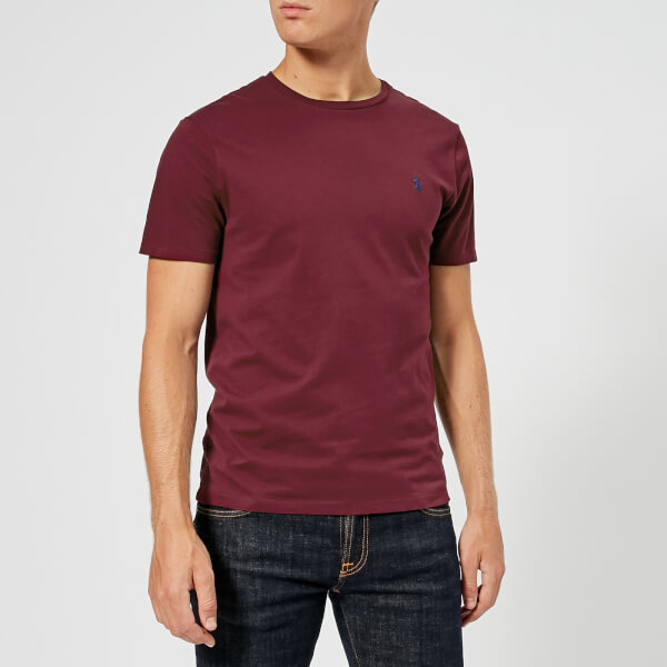 Polo Ralph Lauren Men s Custom Slim Fit T-Shirt - Classic Wine - Free UK  Delivery over £50 ba917bfaef5