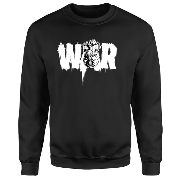 Marvel Avengers Infinity War War Fist Sweatshirt - Black