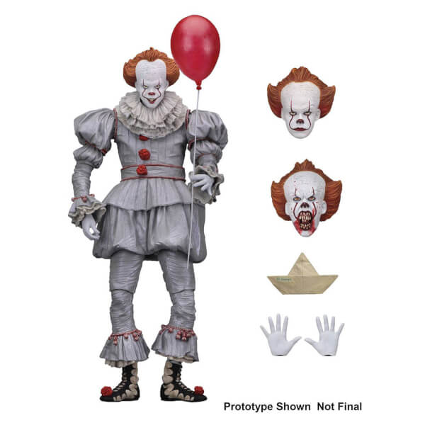 It Ultimate Action Figure Pennywise 2017 Movie Version