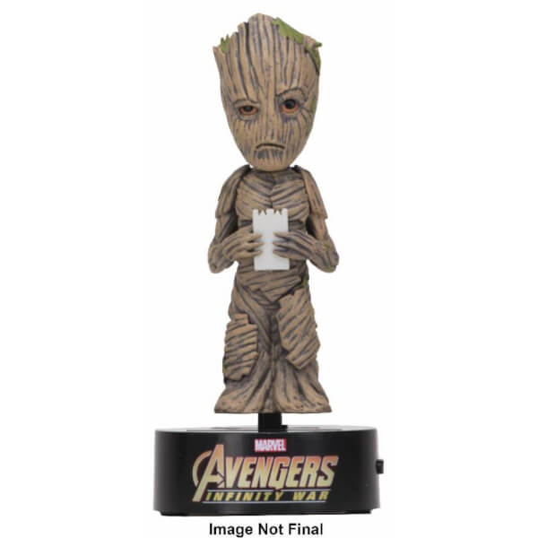 NECA The Avengers Infinity War Body Knocker - Groot