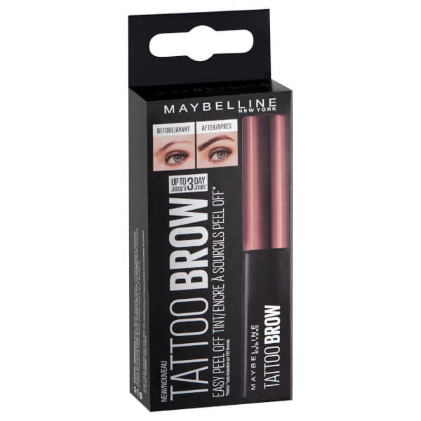 Maybelline Brow Tattoo Longlasting Tint (Various Shades ...