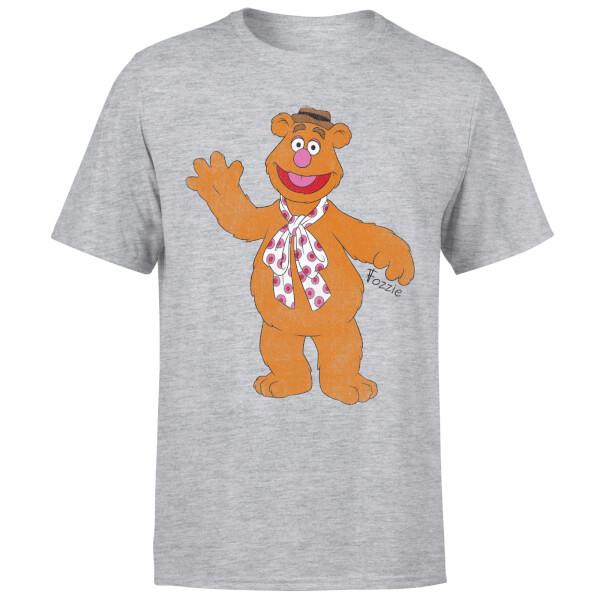 Disney Muppets Fozzie Bear Classic T-Shirt - Grey