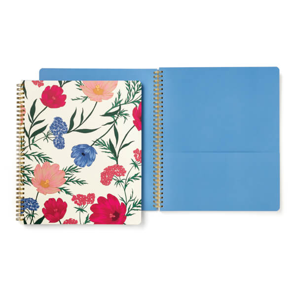 Kate Spade Large Spiral Notebook - Blossom