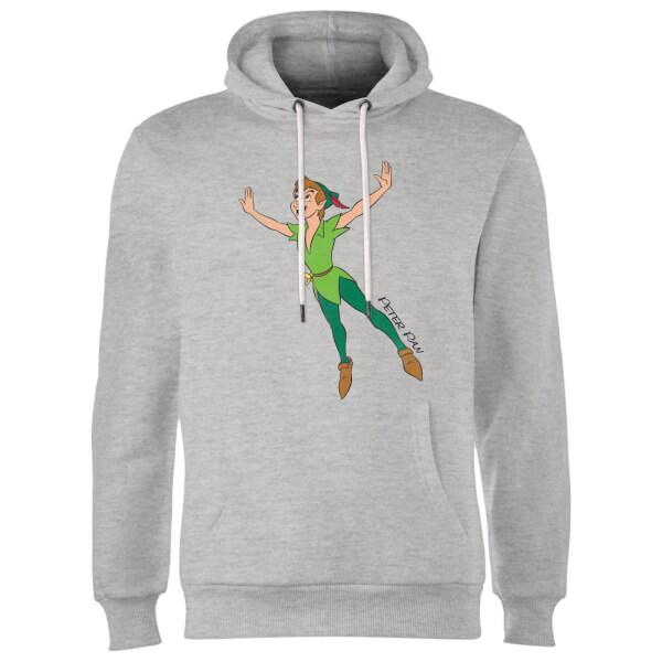 Disney Peter Pan Flying Hoodie - Grey