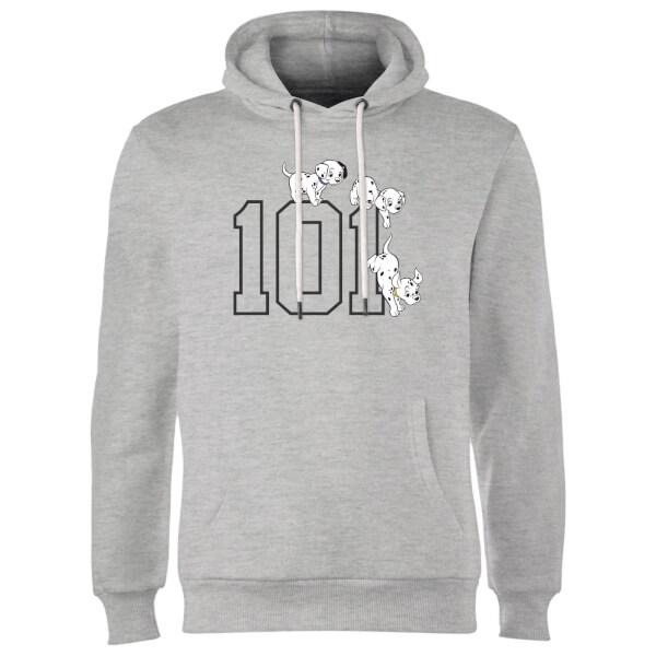 Disney 101 Dalmatians 101 Doggies Hoodie - Grey