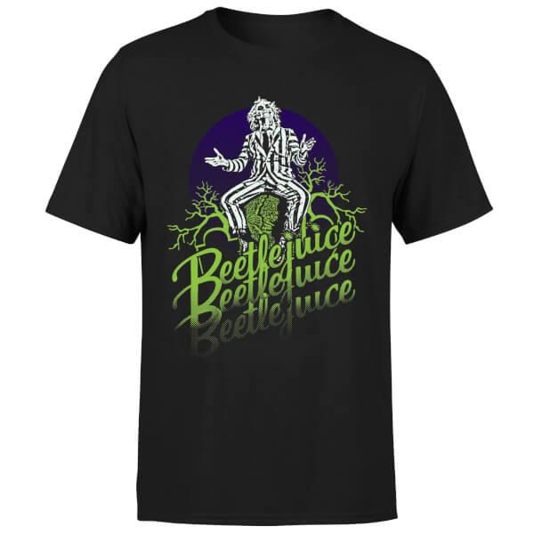 Beetlejuice Faded T-Shirt - Black