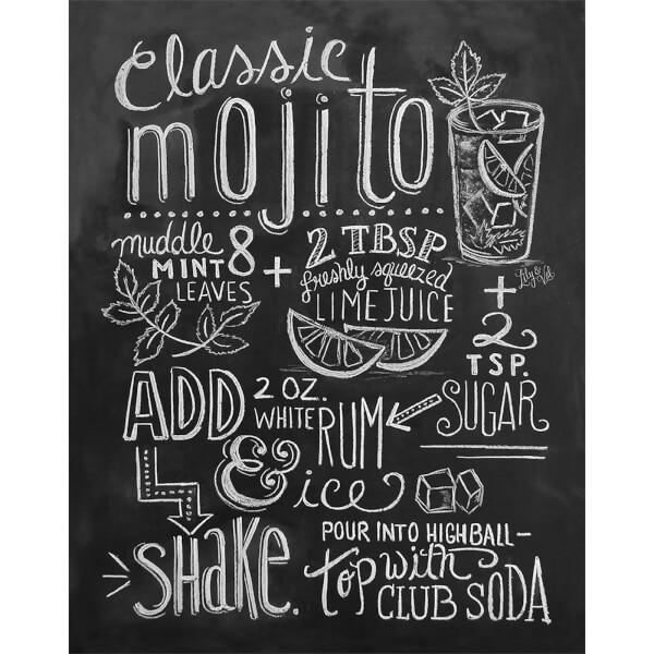 Lily & Val Classic Mojito Print