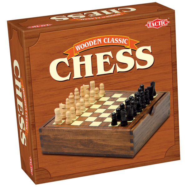Wooden Classic Chess