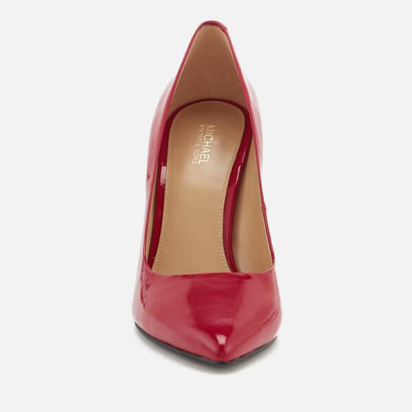 32941950c08d MICHAEL MICHAEL KORS Women s Claire Patent Court Shoes - Scarlet  Image 2
