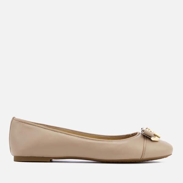 e730cded53b MICHAEL MICHAEL KORS Women s Alice Ballet Flats - Truffle  Image 1