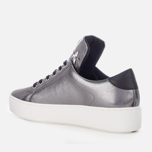 5f6b9961029 MICHAEL MICHAEL KORS Women s Mindy Lace Up Trainers - Gunmetal  Image 2