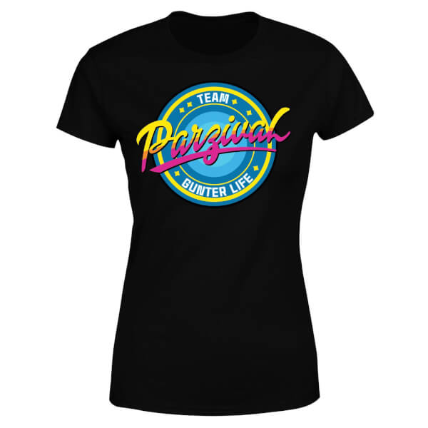 Ready Player One Team Parzival Women's T-Shirt - Black