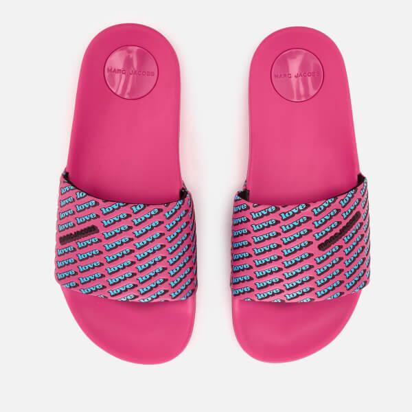 Marc Jacobs Women's Love Aqua Slide Sandals - /Multi - EU 36/UK 3