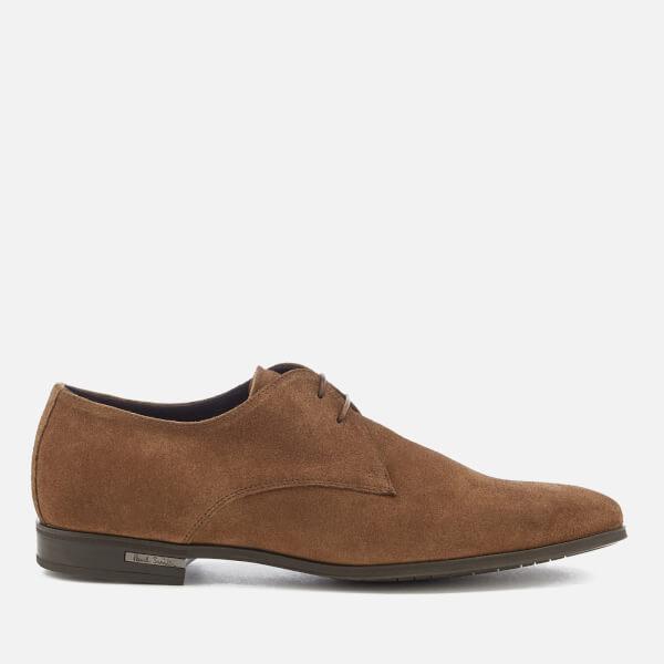 Paul Smith Men's Coney Suede Derby Shoes - Tan