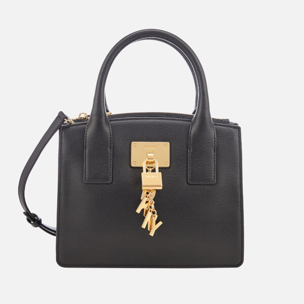 Tote - Elissa SM Tote Black/Gold - black - Tote for ladies DKNY zWcgMkx