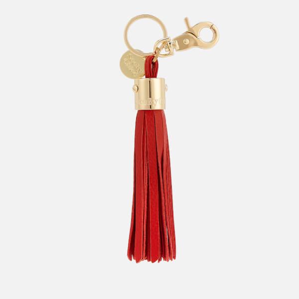 See By Chloé Women's Tassel Keyring - Red Sand