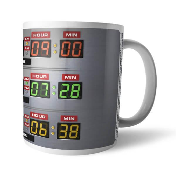 Back To The Future Destination Time Mug