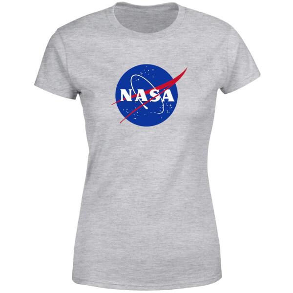 NASA Logo Insignia Women's T-Shirt - Grey