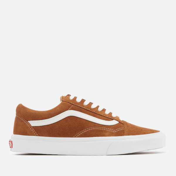 015cffa774f2e8 Vans Men s Old Skool Suede Trainers - Leather Brown True White  Image 1