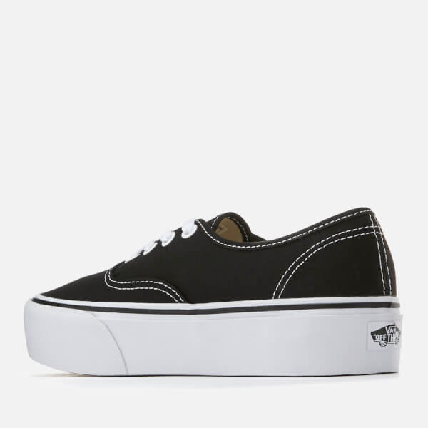 cd48bfc4825 Vans Women s Authentic Platform 2.0 Trainers - Black Womens Footwear ...
