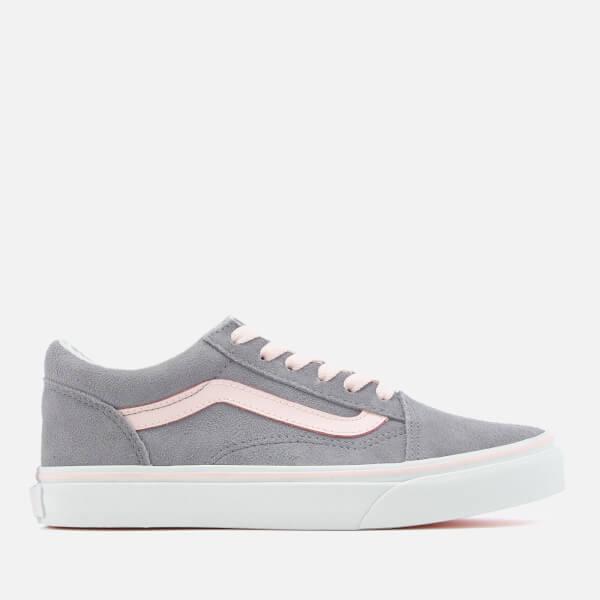 Vans Old Skool Suede Trainers - Alloy/Heavenly Pink/True White