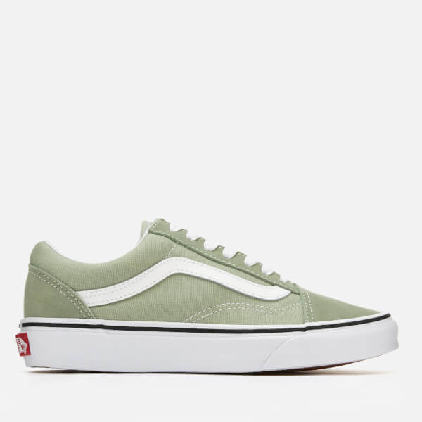 vans old skool desert sage true white